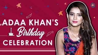 Adaa Khan Celebrates Her Birthday With India Forums