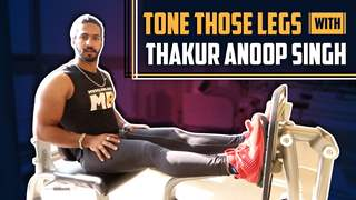 Thakur Anoop Singh Shares His Leg Exercise Routine With India Forums