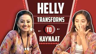 Helly Shah Transforms To Kaynaat | Sufiyana Pyaar Mera | Star Bharat