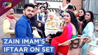 Shrenu Parikh's Treat To Zain Imam & Team Ek Brahm Sarvagun Sampann For Iftaar | Star Plus