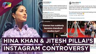 Hina Khan Receives Support From TV Industry As Jitesh Pillai Comments On Her Cannes Appearance