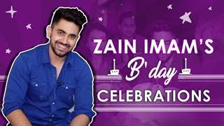 Zain Imam Celebrates His Birthday With Shrenu Parikh And Ek Brahm's Cast | Star Plus