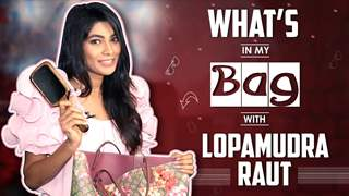 What's In My Bag With Lopamudra Raut | Bag Secrets Revealed