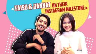Jannat Zubair Rahmani And Faisal Shaikh Aka Faisu Celebrate Their Instagram Success