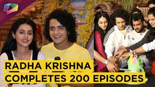 Radha Krishna Completes 200 Episodes | Sumedh, Mallika & Other Celebrations