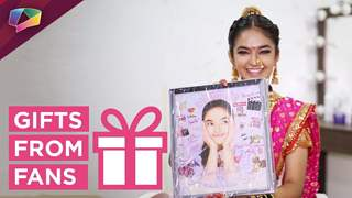 Anushka Sen Receives Gifts From Her Fans | Jhansi Ki Rani