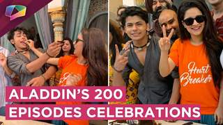 Aladdin's 200 Episodes Celebrations | Siddharth Nigam | Avneet Kaur