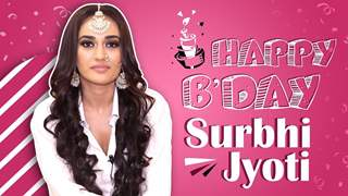 Surbhi Jyoti Celebrates Her Birthday With India Forums