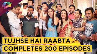 Reem Shaikh, Sehban Azim, Shagun Pandey & Others Celebrate 200 Episodes Of Tujhse Hai Raabta