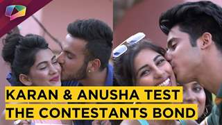 Karan And Anusha Play How Well Do You Know Each Other With Contestants | Love School