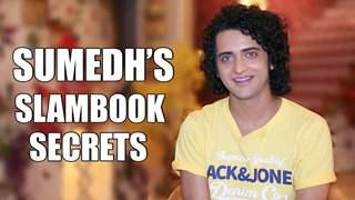 Sumedh Mudgalkar Shares His Slambook Secrets   Radha Krishna