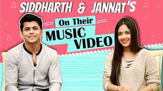 Jannat Zubair Rahmani And Siddharth Nigam Share About Their Upcoming Music Video