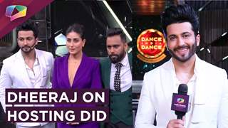 Dheeraj Dhoopar On Hosting Dance India Dance | Receives A Gift