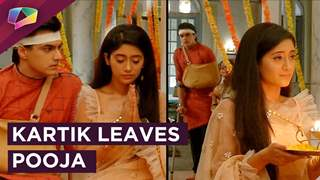 Kartik Leaves Pooja And Goes Away | Upset With Naira | Yeh Rishta Kya Kehlata Hai