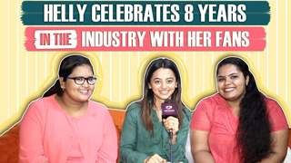 Helly Shah Celebrates 8 Years Completion In The Industry With Fans
