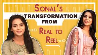 Sonal Vengurlekar's Real To Reel Transformation | Yeh Teri Galliyaan | Zee tv