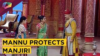 Mannu Protects Manjiri As She Is In Shock After Ross's Behaviour | Jhansi Ki Rani