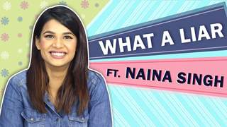 Naina Singh Plays What A Liar! With India Forums | Kumkum Bhagya