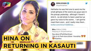 Hina Khan On Returning In Kasauti Zindagii Kay 2 | Star Plus