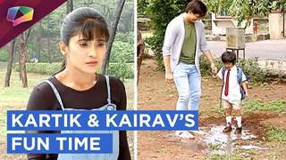 Kartik Spends Some Fun Time With Kairav | Yeh Rishta Kya Kehlata Hai