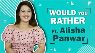 Alisha Panwar Plays Would You Rather