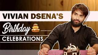 Vivian Dsena Celebrates His Birthday With India Forums