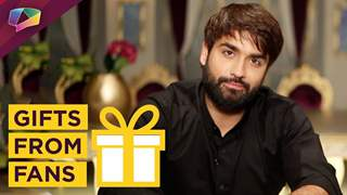 Vivian Dsena Receives Gifts From His Fans | India Forums