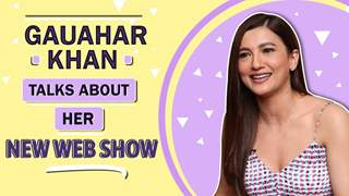 "Gauahar Khan Talks About Her New Web Show ""The Office"""