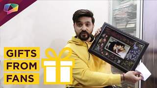 Ashish Sharma Receives Gifts From His Fans | Thanks Them