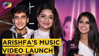 Arishfa Khan's Music Video Launch | Avneet Kaur & Bhavin Bhanushali's Special Wishes