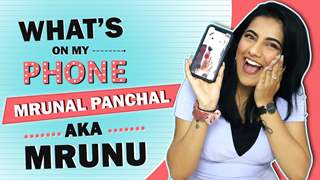 What's On My Phone With Mrunal Panchal Aka Mrunu | Phone Secrets Revealed