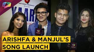 Manjul Khattar And Arishfa Khan's Glamorous Song Launch | Rits, Jazz & More