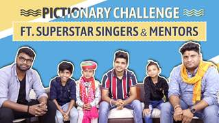 Pictionary Challenge With Salman, Nitin, Sachin & Superstar Singers