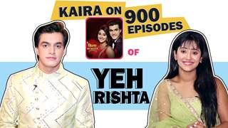 Mohsin Aka Kartik And Shivangi Aka Naira On 900 Episodes Of Yeh Rishta Kya Kehlata Hai