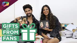 Ravi Dubey And Nia Sharma Unwrap Gifts From Fans | Jamai Raja
