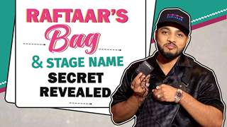 What's In Raftaar's Bag? | Stage Name Secret Revealed | MTV Hustle