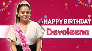 Devoleena Bhattacharjee Unwraps Gifts And Takes The Birthday Q & A