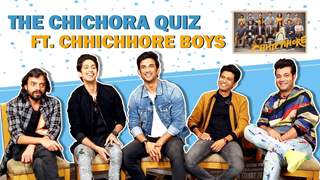 The Chichora Quiz Ft. Sushant, Varun, Naveen, Tushar & Saharsh | Chhichhore
