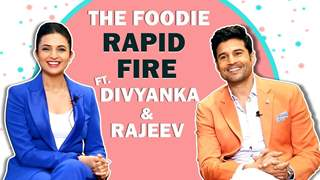 Divyanka & Rajeev Reveal Their Favourite Street Food, Cheat Meals & More | Foodie Rapid Fire