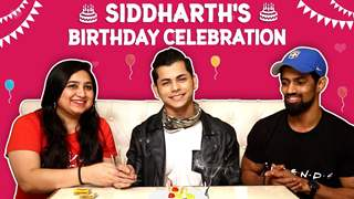 Siddharth Nigam's Birthday Celebrations With India Forums