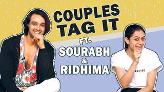 Couples Tag It Ft. Sourabh Raaj Jain & Ridhima Jain | Nach Baliye 9