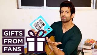 Namik Paul Receives Gifts From His Fans | Kavach 2