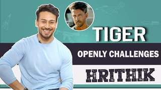 Tiger Shroff Challenges Hrithik Roshan | Talks About Working With Jackie Shroff | War