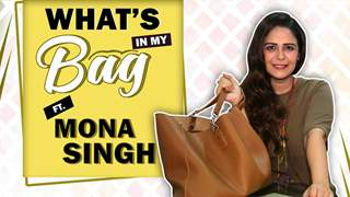 What's In My Bag With Mona Singh | Bag Secrets Revealed