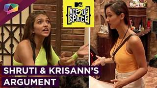 Shruti Sinha And Krisann Baretto's Argument | Mandeep Bullies Salman | Ace Of Space 2