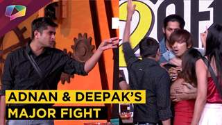 Adnan Shaikh And Deepak Thakur Get Into A Major Fight | Ace Of Space 2