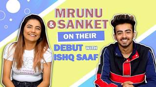 Sanket Mehta And Mrunal Panchal Talk About Ishq Saaf, Acting Plans & More