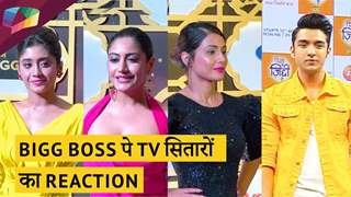 BIGG BOSS पे TV सितारों का Reaction | Hina, Surbhi, Shivangi & More| Bigg Boss १३