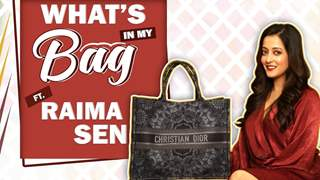 What's In My Bag With Raima Sen | Bag Secrets Revealed