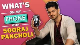What's On My Phone With Sooraj Pancholi | Phone Secrets Revealed